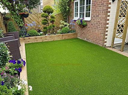 Green Grass Flooring